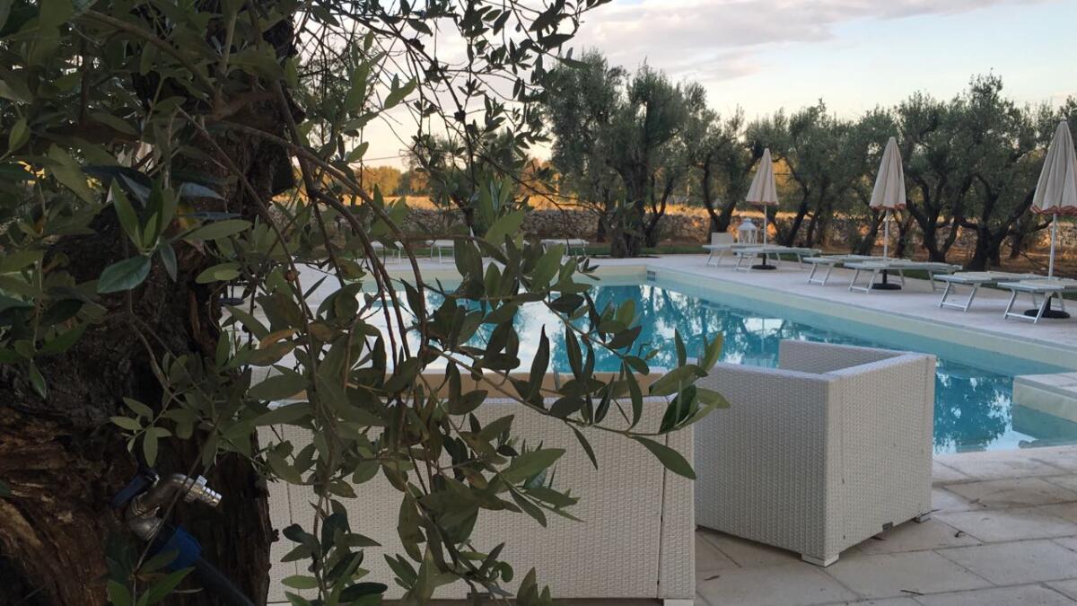 1 piscina masseria baroni di montesardo struttura ricettiva ristorante spa lido marini ugento leuca gallipoli salento lecce puglia italia